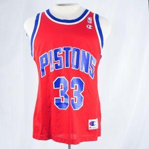 Vintage Grant Hill Champion replica jersey size 40